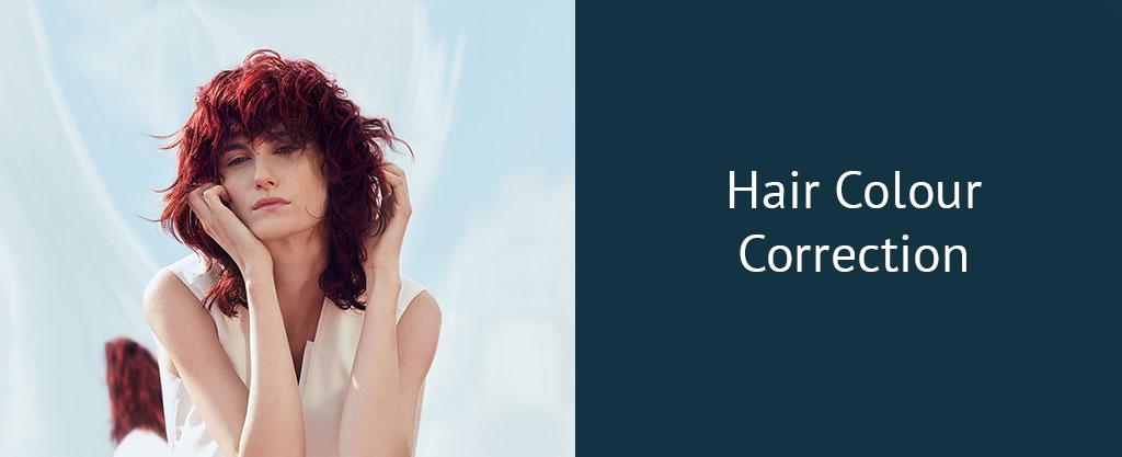 Hair-Colour-Correction at antonys for hair hair salon in bury