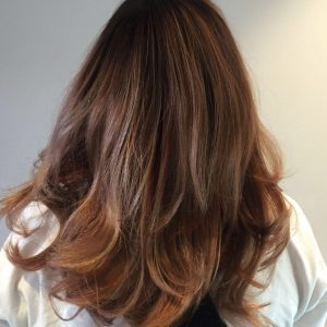 brunette hair colour at antonys for hair in bury