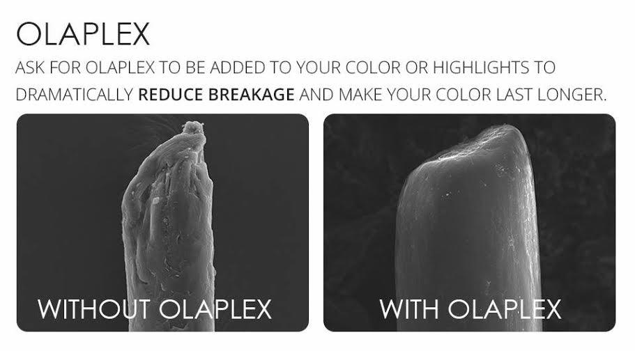 olaplex hair treatments at top bury hair salon