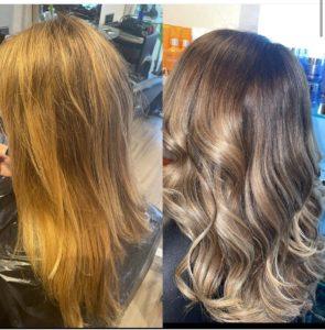 Best hair salon Bury for colour correction