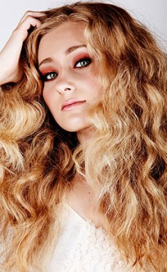 long curly prom hairstyles at Antony's hair salon in Bury, Manchester