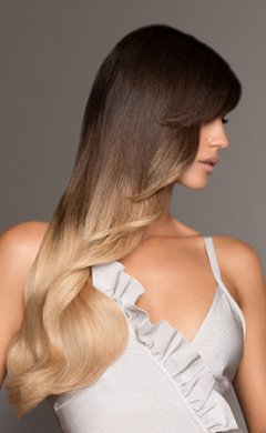 Balayage for brunettes at Antonys hair salon, BuryY